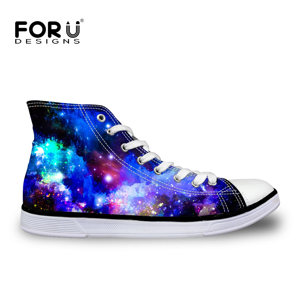 Cool Men's Canvas shoes New Fashion High Top Casual shoes Lace Up Sneaker Boots