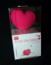 Pottery Barn Teen Pink From Heart Mobile Device Cell Phone Stand Cord Wrapper