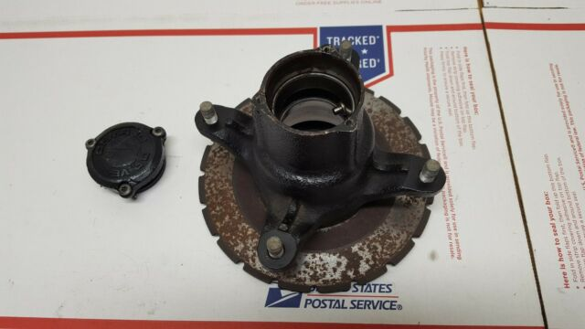 1998 Polaris Scrambler 400 4x4 Brake Notched Disk Rotor Wheel Hub Assembly W Cap