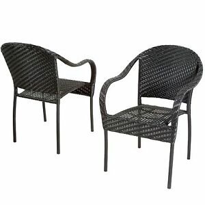 chairs see more outdoor patio furniture black pe wicker dining