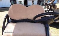 Golf Buggy / Cart / Seat Covers / Fits Club Car - Precedent & Emc Carts