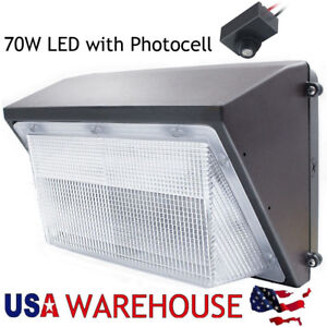Details About 70w 100w 125w Led Wall Pack Security Light Fixture For Outdoor Warehouse Lights