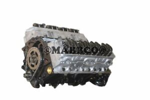 Details about MARINE GM Chevy 5 7 350 Long Block with Aluminum Heads  1992-1997 LT-1, LT1