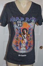 Hard Rock CAFE T-Shirt XL JIMI HENDRIX SIGNATURE SERIES 29  ORLANDO t shirt MED