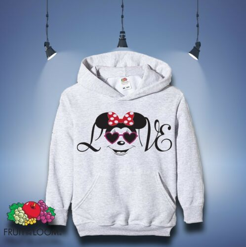 Mickey Minnie Mouse Hoodie Sweatshirt Pullover