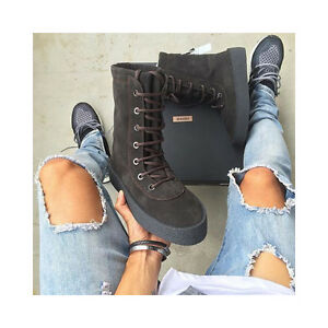 super popular 60689 f602b Image is loading YEEZY-SEASON-2-MILITARY-CREPE-BOOT-OIL-LIMITED-