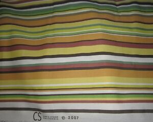 Drapery Upholstery Fabric Indoor//Outdoor Stripe Jeweltone