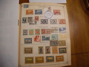 2-Album-Pages-of-Stamps-Rare-icstamps-Stamps1000-20