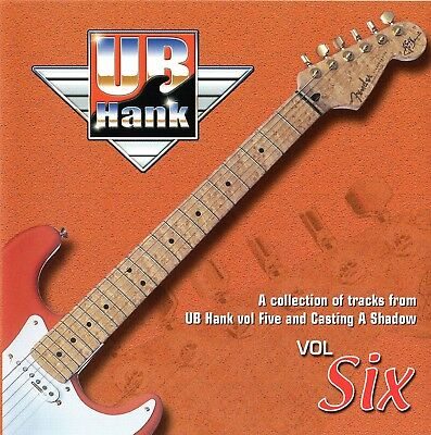 UB HANK  Vol 6 Backing Track CD Shadows Music Recorded at Hank Marvin's Studio