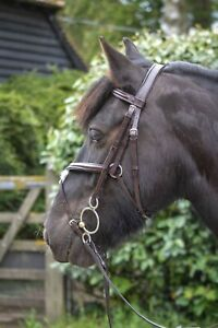 Grackle Bridle FREE UK Postage Mexican Grackle with Reins COB BLACK