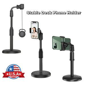 Adjustable Tripod Desktop Stand Desk Holder Selfie Stick Mount For Cell Phone US