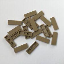 Lego® 5 x Fliese 1x3 Kachel dunkelbeige Neu #63864