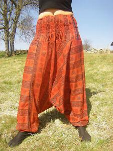 044d1651cfba Sarouel OM Rouge - Vetements Hippie Baba Cool   eBay