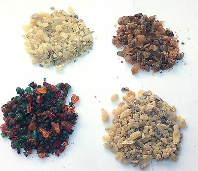 Incense Resin Wholesale 100grams  Indian Tree Resins Guggle Myrrh Dammar etc