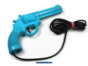 original-SEGA-L-E-Lightgun-Phaser-Pistole-Gewehr-blau