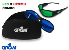 Grow1 Gruve LED & HPS Combo Grow Room Glasses + FREE Carrying Pouches!