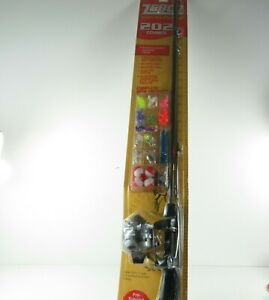 Zebco 202 Spincast  Combo Package, 10 lbs + Fishing Accessories NEW