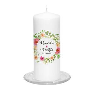 Hochzeitskerze-Blooming-Love-inkl-Personalisierung-Hochzeit-Traukerze-Blume