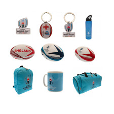 OFFICIAL RUGBY WORLD CUP 2019 GIFT (RFU) Pin Badge/Keyring/Bottle/Mug/Rugby Ball