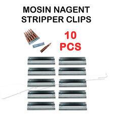 7.62x54 Mosin Nagant Stripper Clip 91/30 M44 10pcs - US Seller