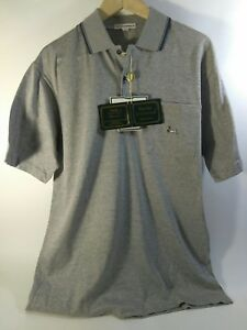 Nwt Ducks Unlimited Gray Polo Shirt Short Sleeve Duck Logo Ebay