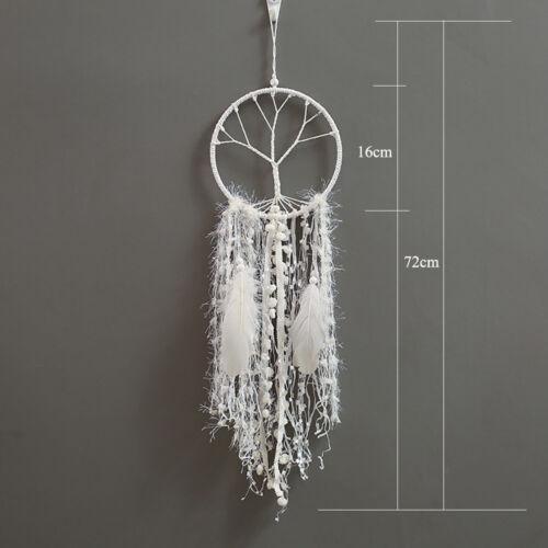 DREAM CATCHER Knitted Cotton Handmade Fairy Fantasy Dreamcatcher Large Size NEW