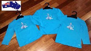 Simple-Pretty-Girl-039-s-Size-2-4-Frozen-Queen-Elsa-Long-Sleeves-Cotton-T-Shirt-Top