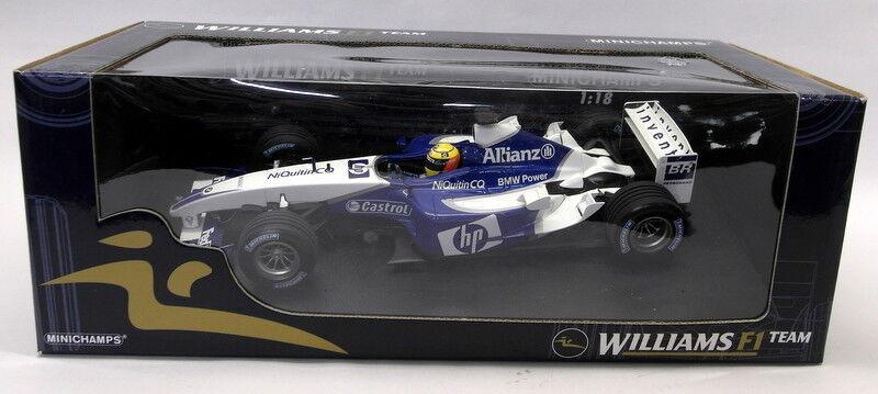 El nuevo outlet de marcas online. Minichamps 1 18 Scale Scale Scale Diecast - 180 030004 Williams BMW FW25 Ralf Schumacher F1  venta al por mayor barato
