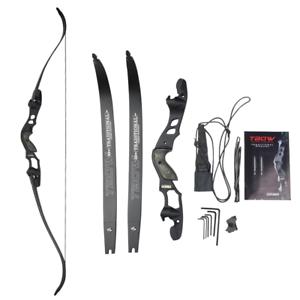 "63/""  ILF 30-55Lbs Archery Recurve Bow Takedown Sight Athletics Target  Hunting"