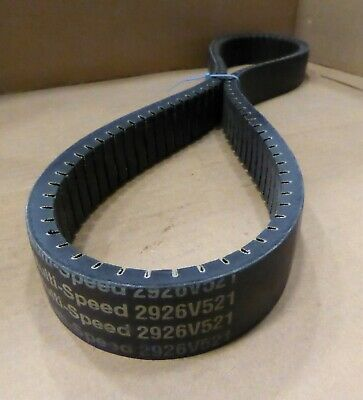 """NEW 2926V521 gates multi-speed 2926v521 v belt 56/"""" x 1-7//8/"""" x 1//2/"""""""