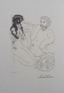 Picasso (Según ) : Master En Inspiración - Litografía Firmada, 1200ex