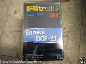 New ! 3M Filtrete Vacuum Filter Eureka DCF-21 Fit model EUREKA 460 3270 3280 423