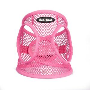 Bark-Appeal-EZ-Wrap-Netted-Dog-Step-In-Harness-Pink-Sizes-XXS-XL