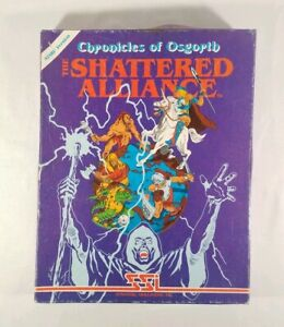 ATARI-800-CHRONICLES-OF-OSGORTH-The-Shattered-Alliance-1982-W-BOX-amp-MANUALS