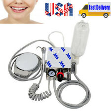 Ce Mini Portable Dental Air Turbine Unit Compressor Low High Handpiece With Bottle