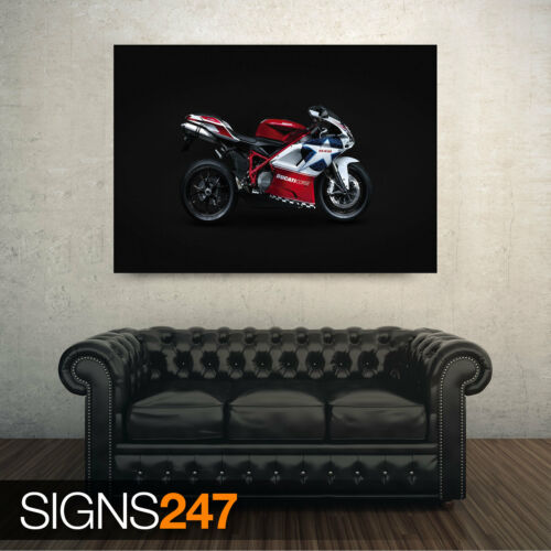 1553 Picture Poster Print Art A0 A1 A2 A3 A4 Motorbike Poster DUCATI 848