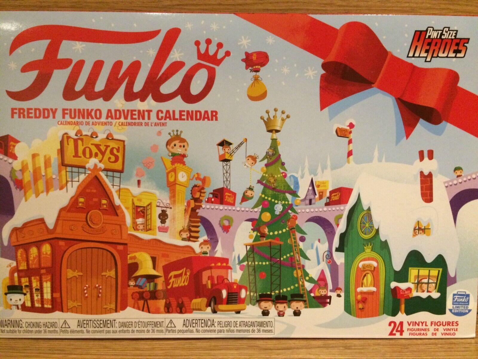 Frojody Funko Calendario de Adviento pinta tamaño héroes Funko shop Exclusivo 24 figuras