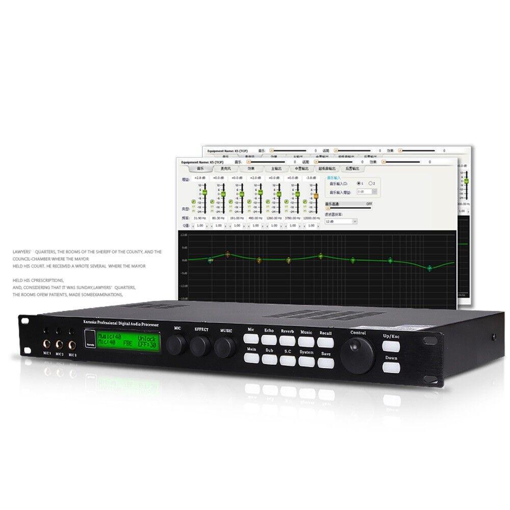 X5 Digital Mixer Reverberator Microphone KTV Karaoke Audio Processor