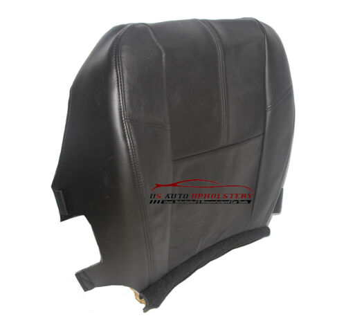 07 08 09 10 Chevy Avalanche *Driver Bottom Replacement Leather Seat Cover Black*