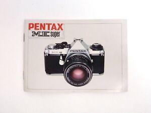 Pentax-ME-Super-Camera-User-guide-Operation-Manual-English