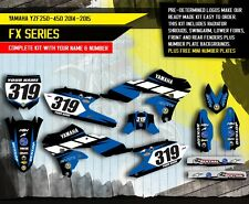 YAMAHA YZ 250F YZ 450F decals stickers graphics kit YZF 250 450 2014 2015