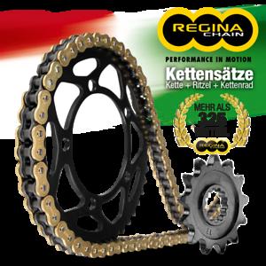 108 Glieder 17//40 Regina Kettensatz 520 ZRT für Aprilia RS 125 1997-2005