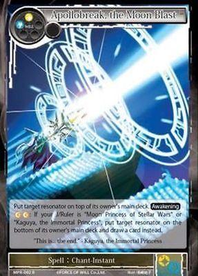 R ~~~~~~~~~~~~~MINT~~~~~~~ the Moon Blast MPR-092 Force of Will Apollobreak