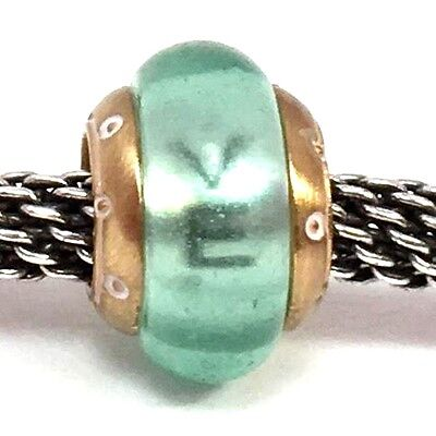 SPACER   green gold  NWOT 2 BRIGHTON transparent love BEAD CHARM