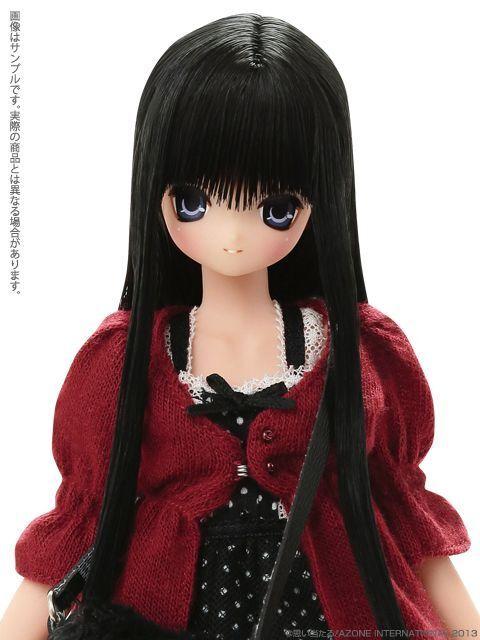 Azone pure neemo ex cute Aika nero Hair blu eyes - nude doll -