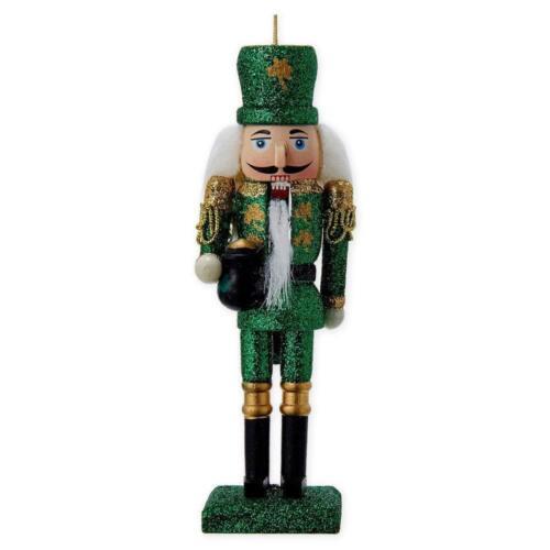 Wooden Irish Nutcracker Ornament 6 Inch