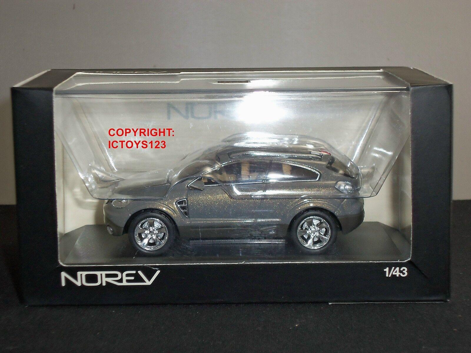 NOREV 360030 OPEL ANTARA GTC SALON DE FRANKFORT 2005 GREY DIECAST MODEL CAR