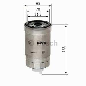 kia sorento Iveco Daily Carburant Filtre Bosch 1457434310 Fiat punto massif Jeep