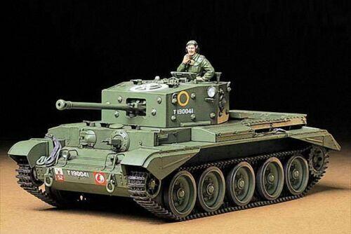 Tamiya 35221 1//35 Model Kit British Cromwell Mk.IV Cruiser Tank Mk.VIII A27M