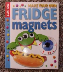 Details About Make Your Own Fridge Magnets Book From Cool Kits Kids Crafts